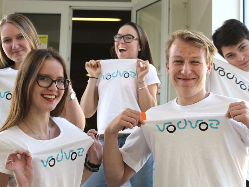 High school students needed an app to change the world