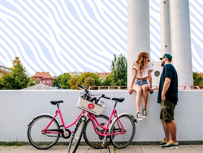 Pink bike-sharing and our most beloved startup