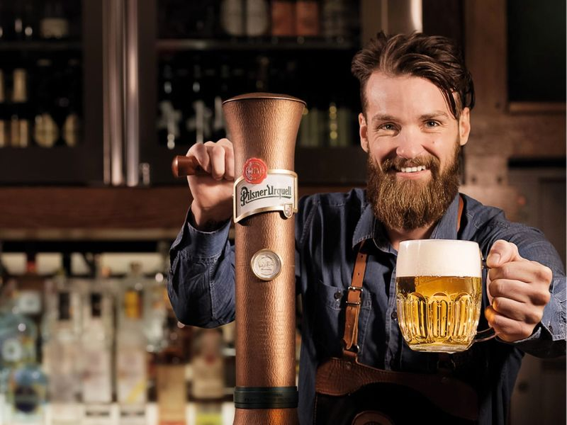 Pilsner Urquell is teaching the Japanese to drink Czech beer