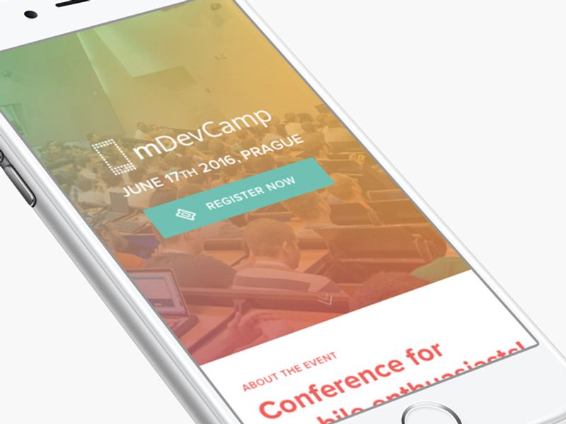 A conference for mobile web developers