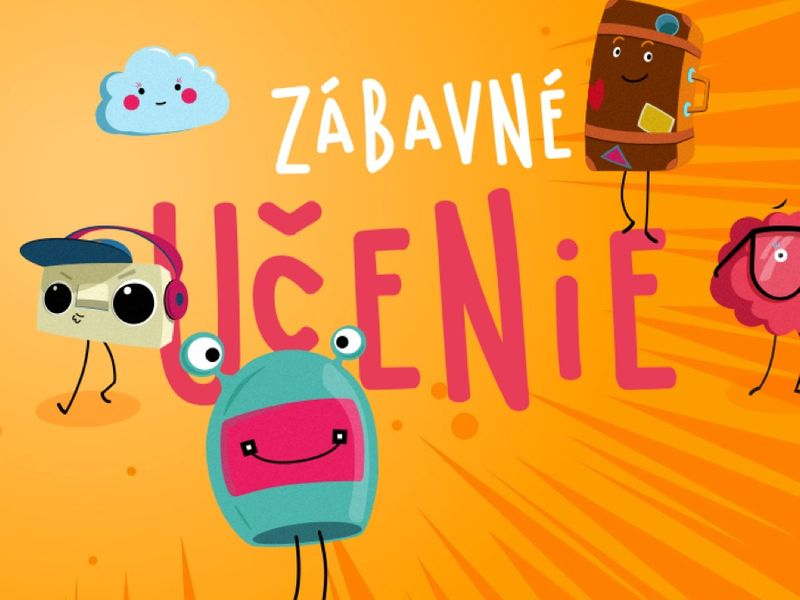 Educational site for Slovak elementary school