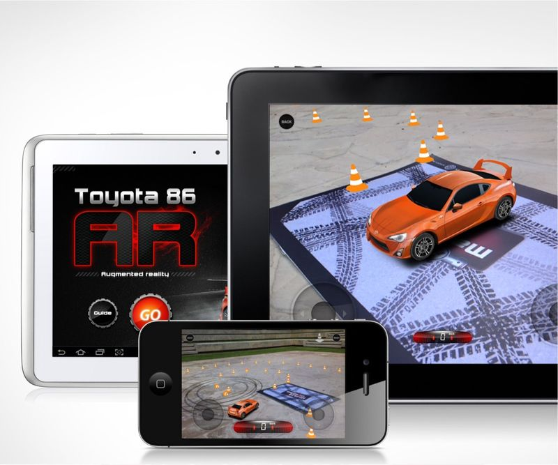 Augmented reality for Toyota